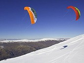 SnowKiting with Ozone Access XC