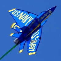 3D Blue Angel