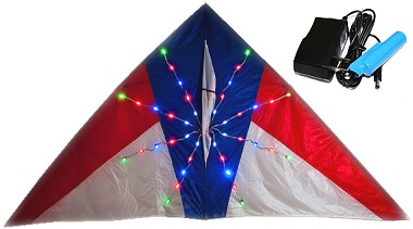 LED Night Kite detail