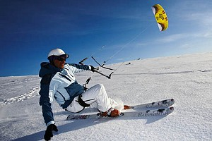 SnowKiting with the Neo