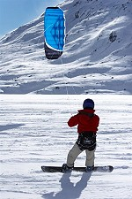 SnowKiting with the Beamer TSR 5.0